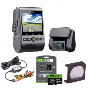 VIOFO A129-G DUO GPS + ADAPTER ACC + 128GB + FILTR